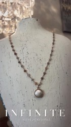 Rose Gold Coin Pearl